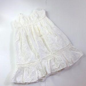 Ralph Lauren white girls summer dress size 4/4T